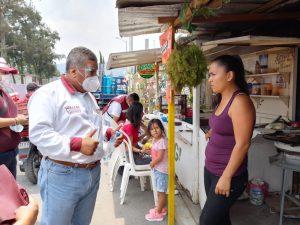 """""""No vamos a parar, caminaremos las 22 colonias y las congregaciones"""", afirma Héctor Rodríguez Cortés"""