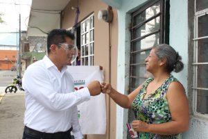 Refrenda Ricardo Pérez García su compromiso de generar un verdadero cambio para Río Blanco.