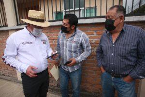 Mejorar vigilancia policiaca en colonias, demandan ciudadanos a Víctor Castelán .