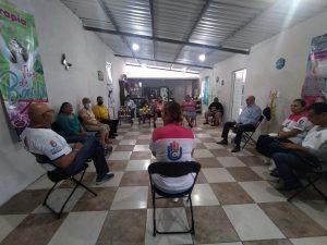 Este día, la candidata Ada Marcela González inicio muy temprano sus actividades.