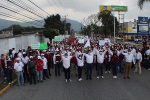Apoyan cientos de simpatizantes, cierre de campaña de Ricardo Pérez García.