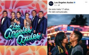 """Piden cancelar la canción de """"17 años"""" y Los Ángeles Azules responden."""