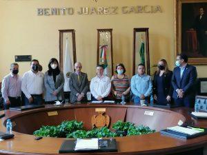 Alcalde de Orizaba Igor Roji continuará trabajando fuertemente lo que resta del año.