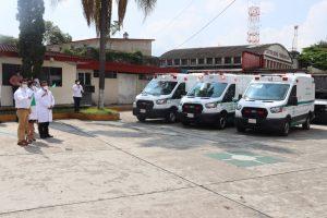 Delegación del IMSS Veracruz, anunció la disposición de ambulancias 2021.