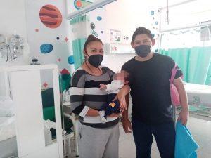 Salva IMSS Veracruz Sur a recién nacido con doble fractura de cráneo causada por accidente carretero.