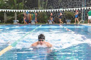 Realizan demostración pedagógica acuática socioalumnos del Centro de Seguridad Social de Orizaba.