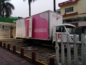 Acerca IMSS Veracruz Sur servicio de mastografía a UMF del centro y sur del estado.
