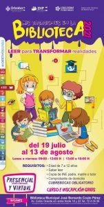 Del 19 de julio al 13 de Agosto habrá cursos de verano en las bibliotecas de la ciudad de Orizaba.