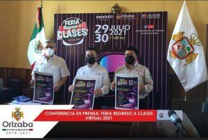 Anuncian la feria de regreso a clases que organiza PROFECO y el ayuntamiento de Orizaba.